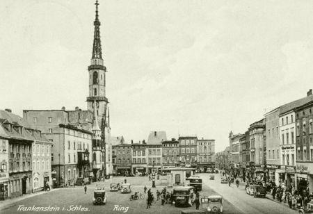 Historyczne zdjęcie Ząbkowic Śląskich