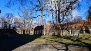Ogrody zamku Orańskiej w Kamieńcu